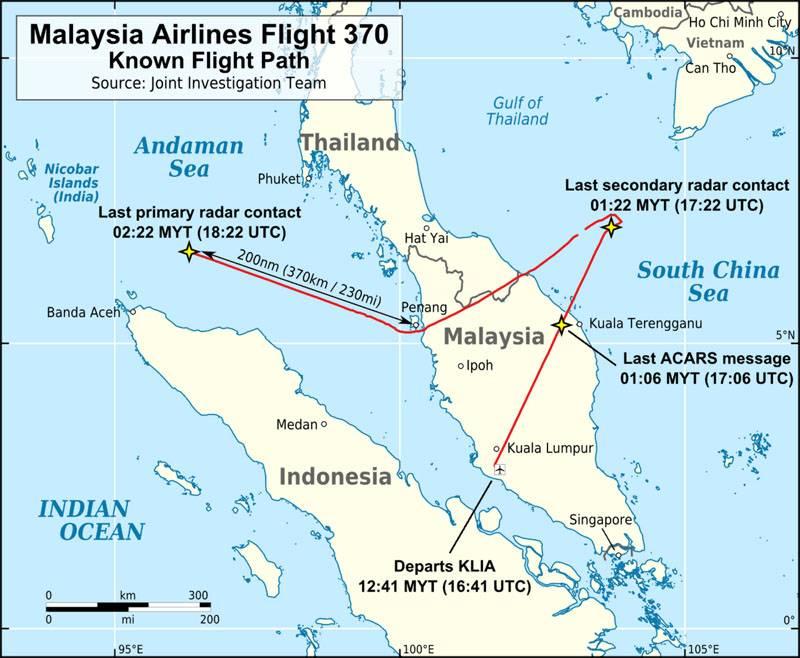 """Avustralya medyası 777 yılında """"Boeing-2014"""" nin kaybının ayrıntıları hakkında"""