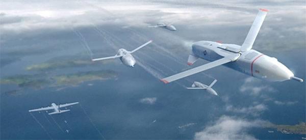 Roy Gremlins. Programme américain de drones, contrôlé depuis un avion