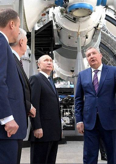On which front is Rogozin being thrown?
