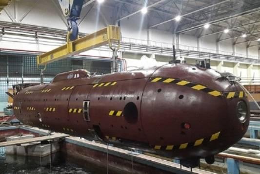 "Na Criméia, começou a testar o drone subaquático ""Harpsichord-2"""