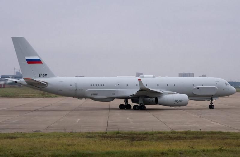 在2018年。 消息人士宣布完成侦察机Tu-214Р