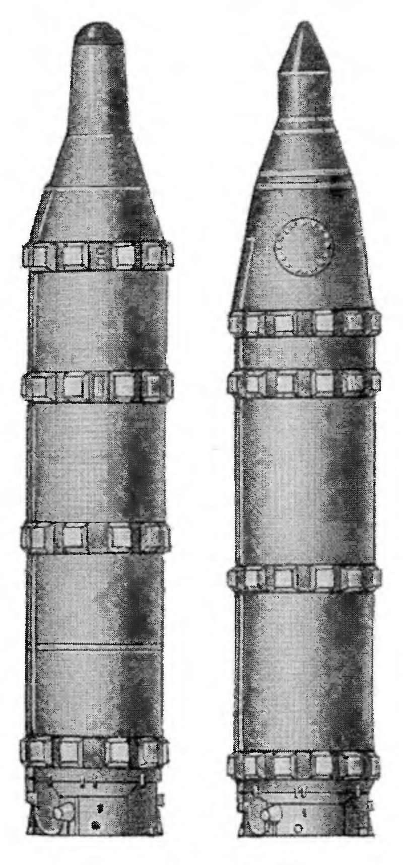 सोवियत जहाज-रोधी बैलिस्टिक मिसाइल परियोजनाएँ
