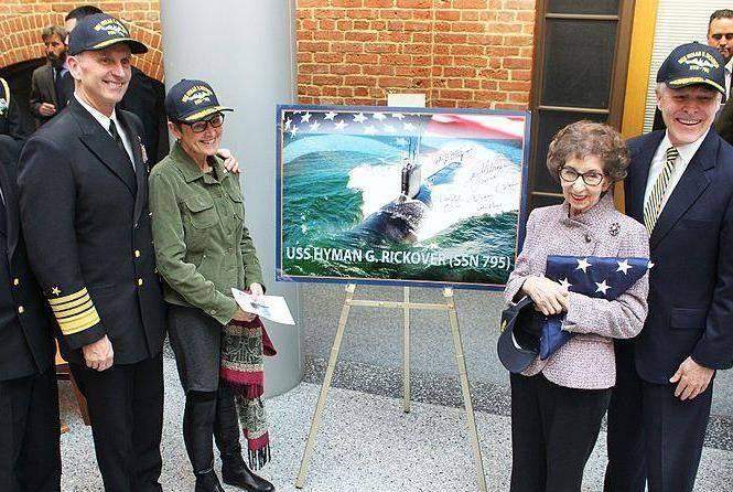 Submarino de clase de Virginia puesto en Estados Unidos