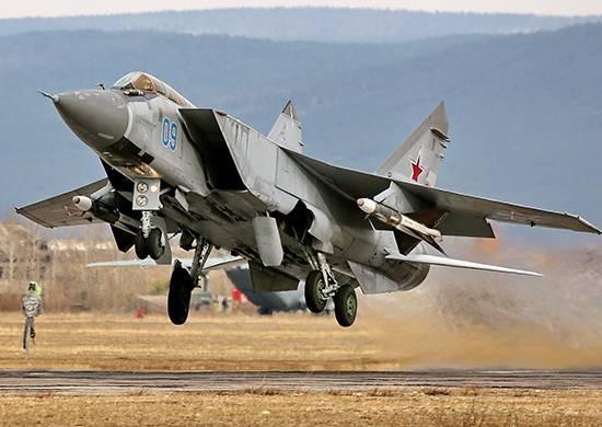 La flotte d'avions du district militaire central sera reconstituée avec des MiG-31BM modernisés d'ici la fin de l'année