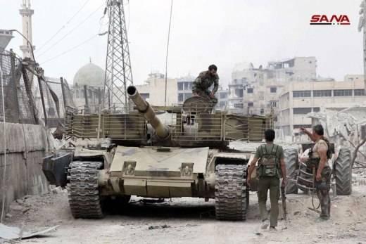 시리아 방위 산업은 Donbass에서 유용 할 것입니다.