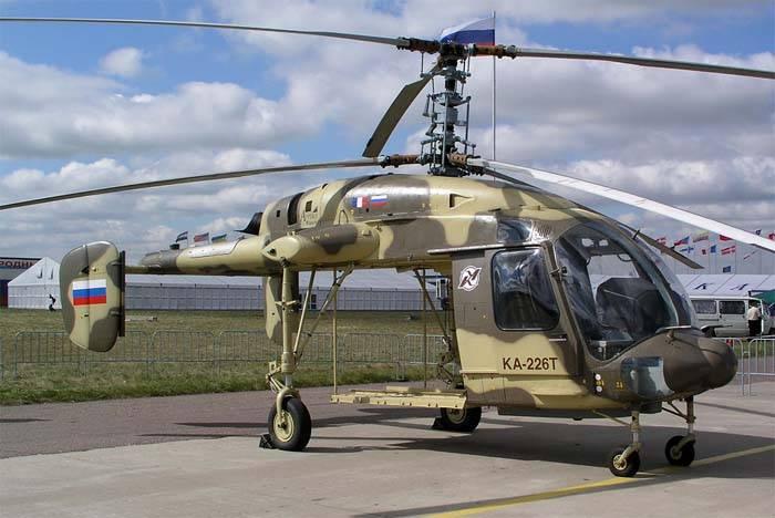 ¡Danos helicópteros y más! India envió una solicitud para el suministro de Ka-226T