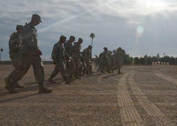 """Ищут пожарные, ищет полиция. Военные США """"потеряли"""" контейнер с гранатами"""