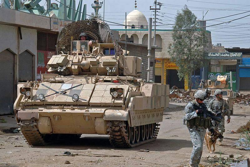 यदि हमारे पास नहीं है, तो हम एक इज़राइली डाल देंगे। अमेरिका ने अब्राम्स और ब्रैडली में सक्रिय रक्षा स्थापित करने की योजना बनाई है