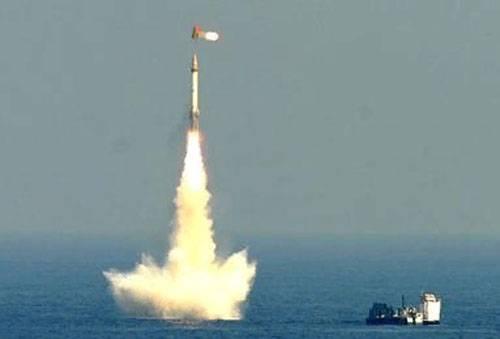 भारत: K-15 सागरिका SLBM के परीक्षण, और रेडियो चुप्पी ...