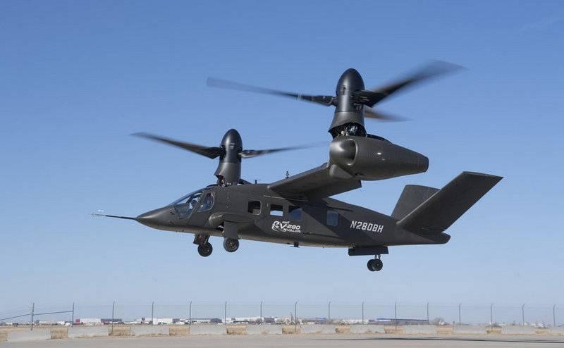 L'ultimo tiltrotor americano V-280 Valor ha volato in aereo