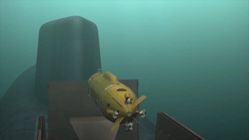2 메가톤. 언론은 수중 무인 항공기의 특성을 밝혔다.