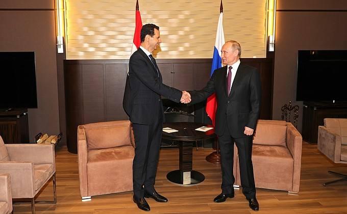 """""""Diktatörler"""" toplantısı. Vladimir Putin ve Beşar Esad Soçi'de ne tartıştı?"""