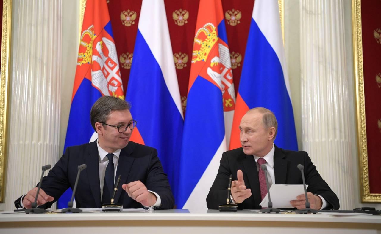 Вучич поведал, почему Сербия никогда неприсоединится ксанкциям противРФ