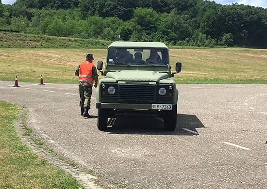 Rus askeri sürücüler ilk kez Sırbistan'da yarışıyor
