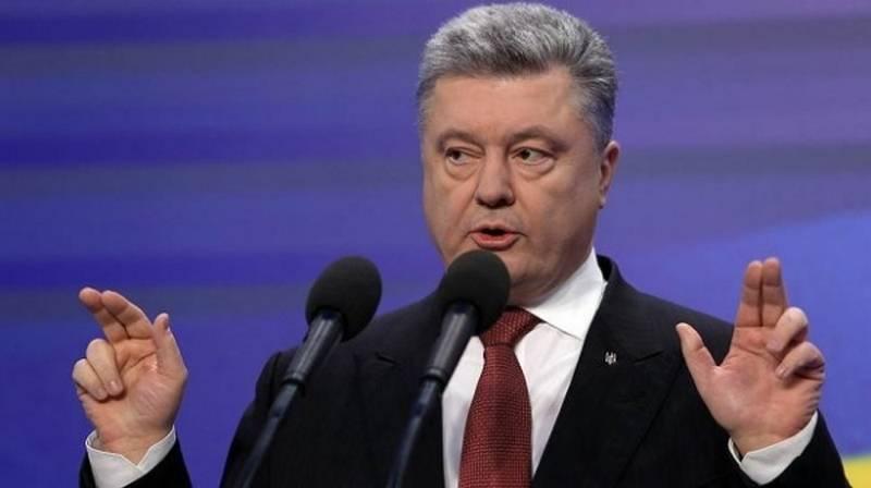 청구서는 어때? Poroshenko, 러시아에 대해 정기적으로 제재 조치를 취함
