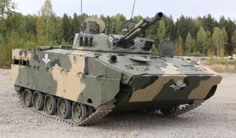 Mehr als zehn Proben. Auf der Basis von BMD-4M werden neue Kampffahrzeuge erstellt