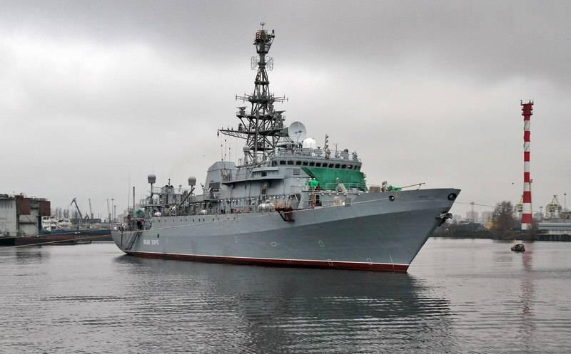 第二段階を開始しました。 通信船「Ivan Khurs」が工場試験を継続