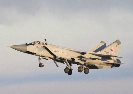 Инцидент с МиГ-31 в Пермском крае