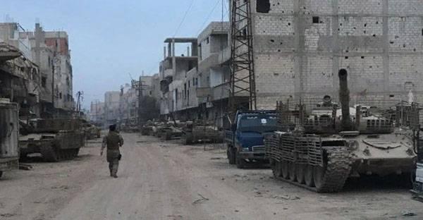 Битва за Дамаск завершена. Конец 7-летней оккупации