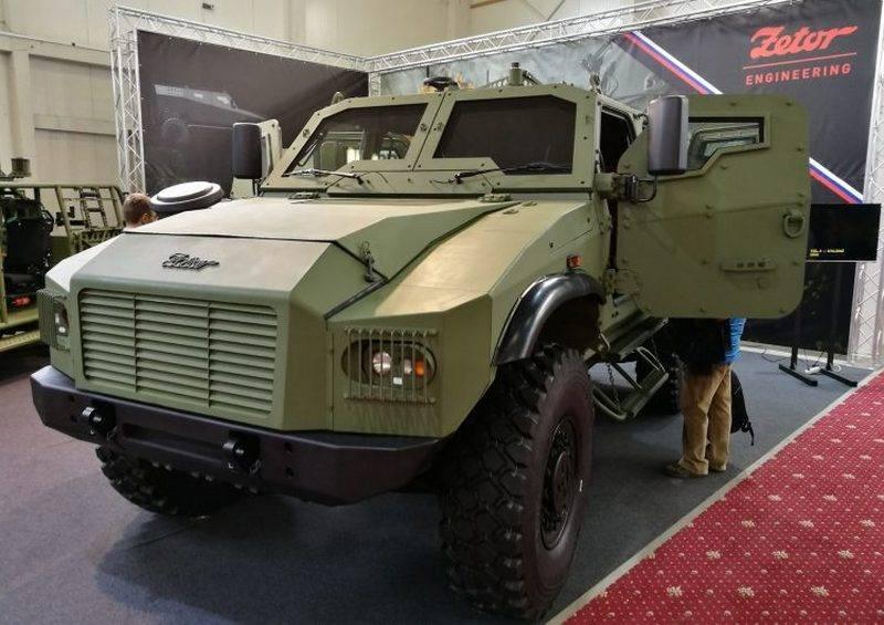 स्लोवाक सेना के लिए नई बख्तरबंद कार। चेक ने Gerlach 4x4 की शुरुआत की