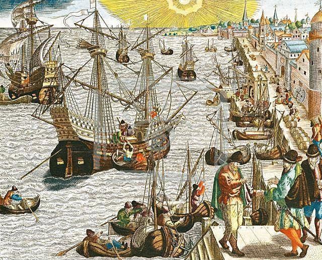 """Как португальские пираты """"открывали"""" Индию"""