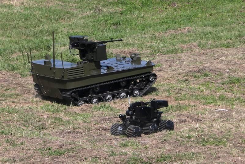 По правилам танкового биатлона. Минобороны проведет соревнования роботов