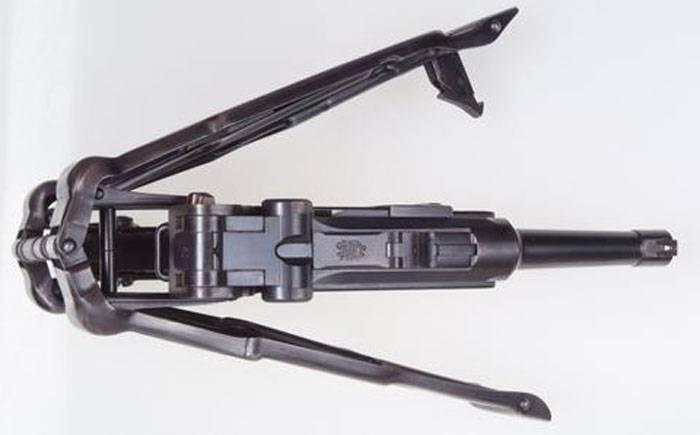 Складные пистолетные приклады Бенке — Тимана (Венгрия, Германия)