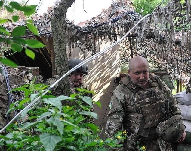 Турчинов близ Горловки: Война может начаться в любое время