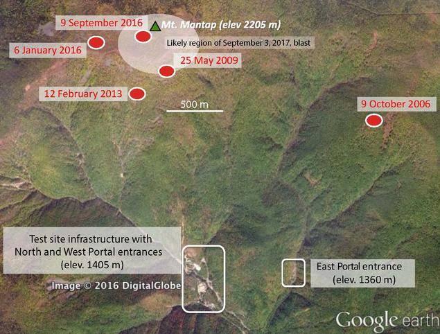 Ядерный полигон в КНДР: не цел, но невредим!