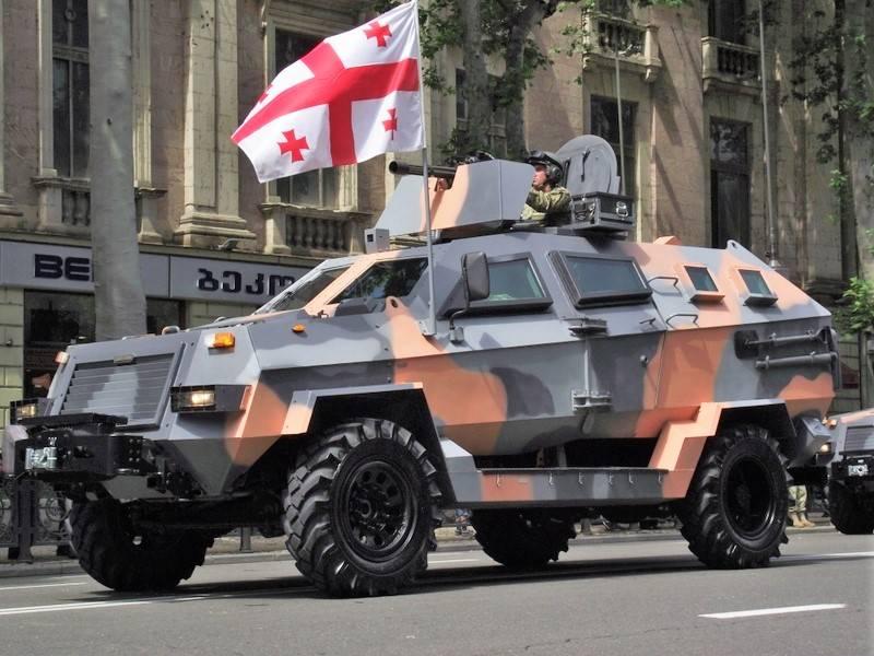 Грузия представила новый броневик семейства Didgori