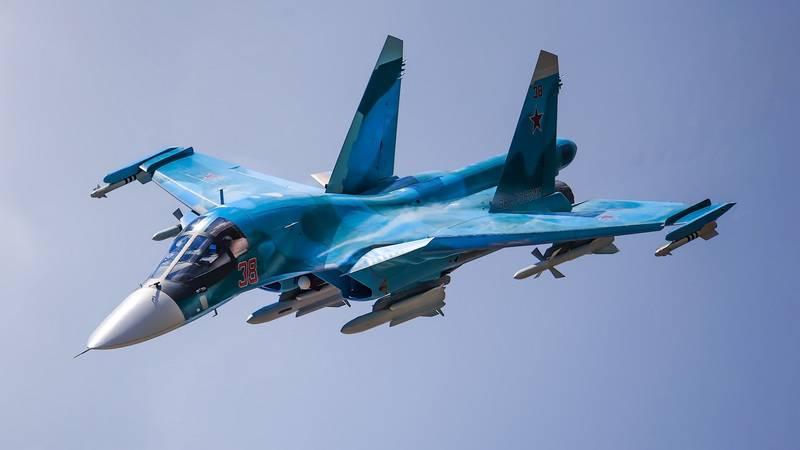 Новые Су-34 пополнили авиаполк Центрального военного округа