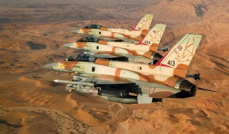 Разбомблено свыше 30 объектов. Израиль ответил на обстрел своей территории