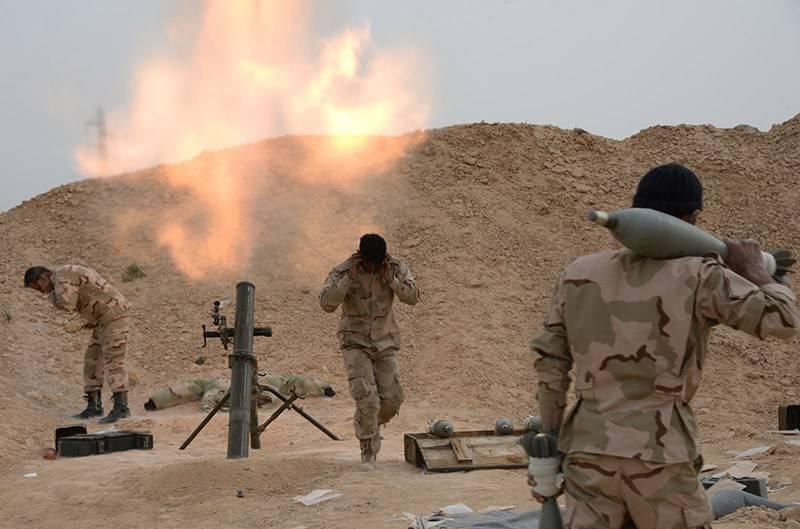 Σοβαρές μάχες στην επαρχία Homs.  Οι μαχητές της IG προσπαθούν να σπάσουν την Παλμύρα