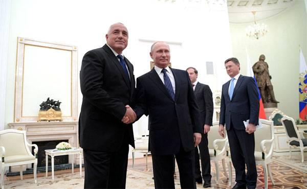 """Болгарский премьер: Россия не держит зла за наш срыв """"Южного потока"""""""