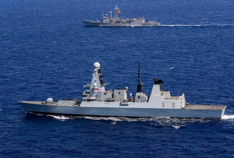 В Черное море вошла группа натовских кораблей