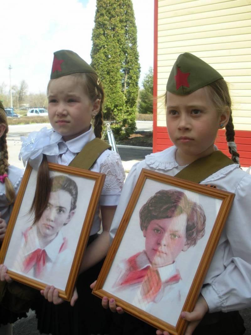Бессмертный полк юных
