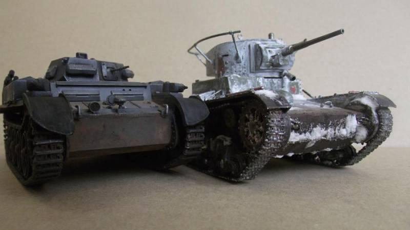 БТВ РККА против Панцерваффен. Хрустальные молоты. Обзор легких танков