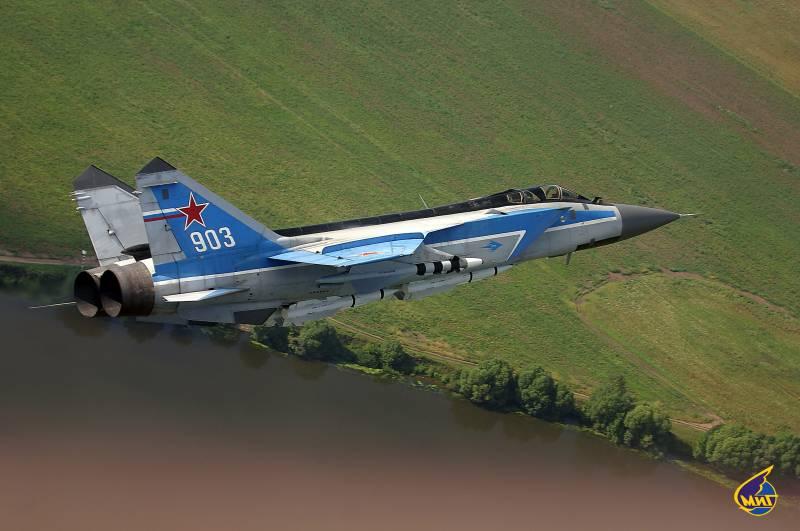 МиГ-31 : Поглед от Великобритания