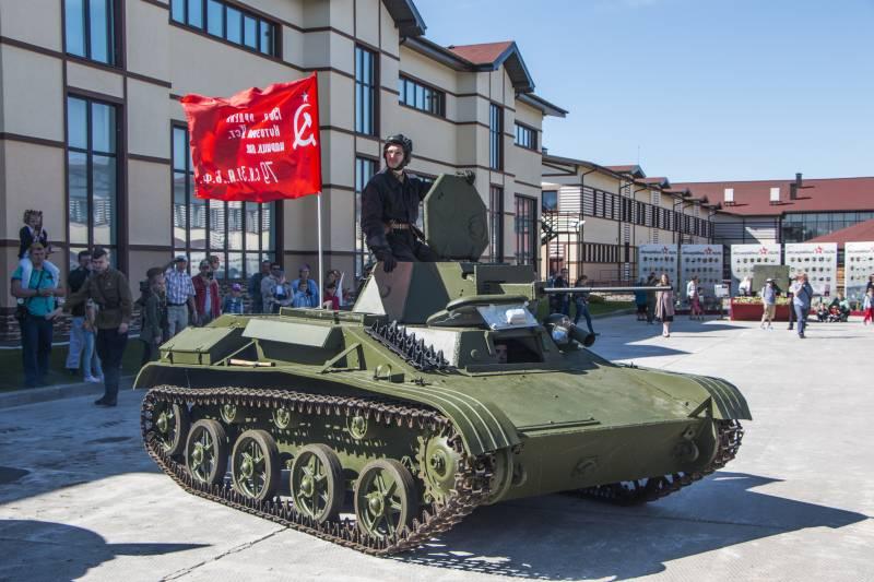 Рассказы об оружии. Танк Т-60 снаружи и внутри