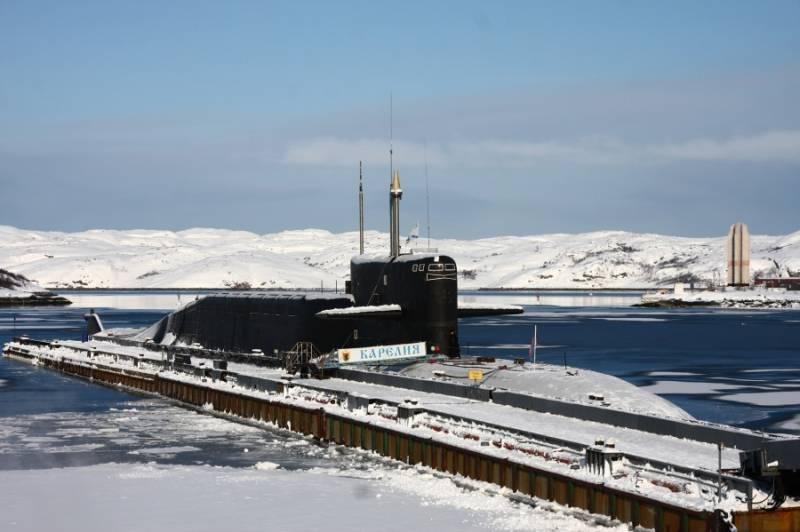 Подводные лодки. Ядерная математика. О потенциале российских РПКСН