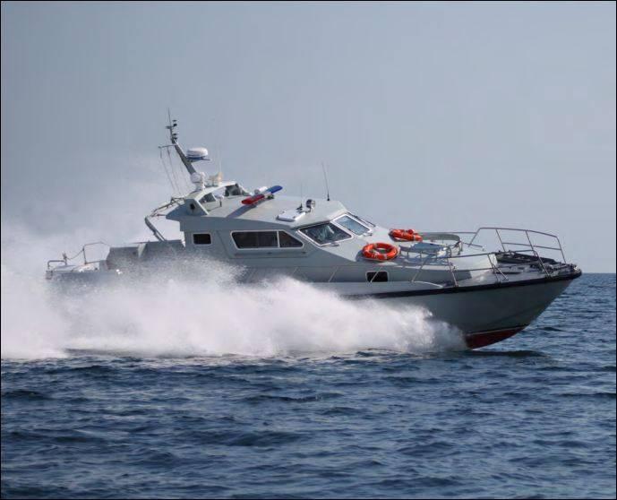 Завод «Море» испытал свой первый скоростной катер