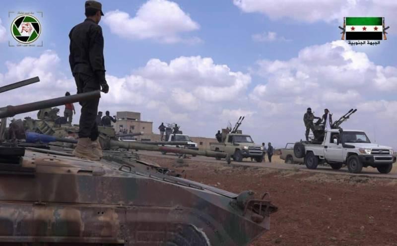 Дамаск потребовал отСША покинуть базу вАт-Танфе