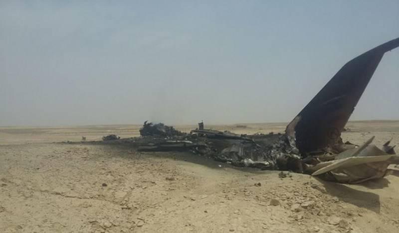 ВИране разбился истребитель национальных ВВС