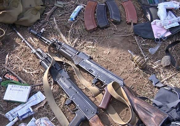 Опубликовано видео с места проведения контртеррористической операции в Дагестане