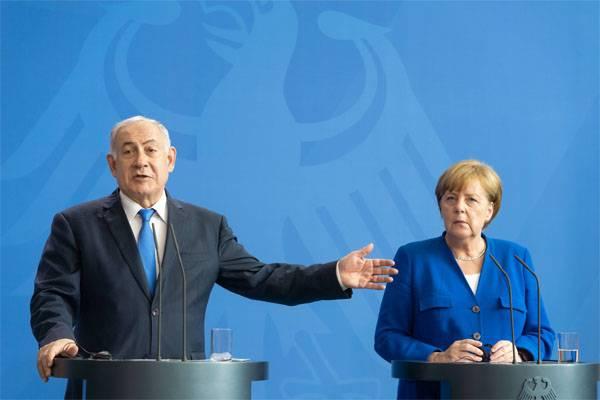 Картинки по запросу Нетаньяху меркель и аятолла Хаменеи