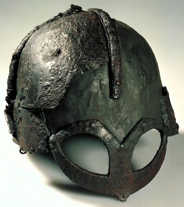 Los cascos más caros. Parte nueve Germaundby: el casco más famoso de los vikingos.