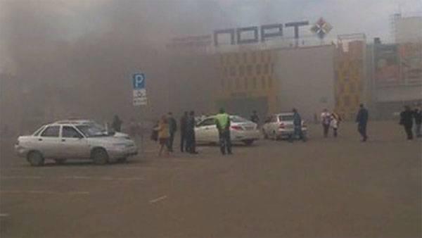 Снова пожар в торговом центре. Теперь Казань