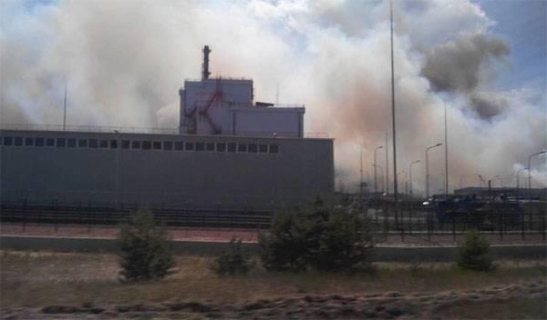 Всплеск уровня радиации в Чернобыле: пожар на пороге АЭС