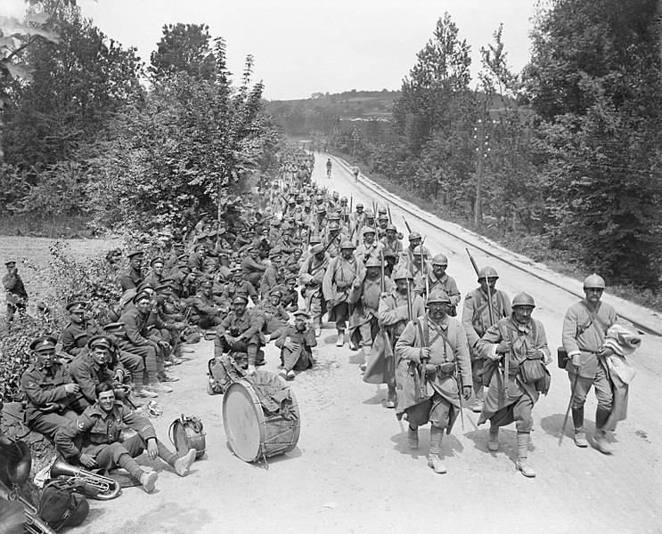 Германские дивизии в 56 километрах от Парижа