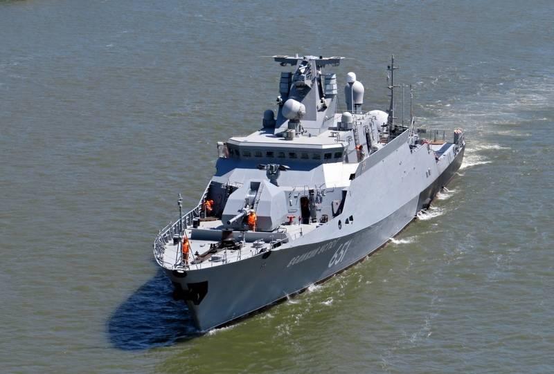 Два малых ракетных корабля Каспийской флотилии начали переход в Черное море